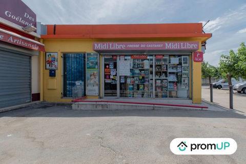 Fonds de Commerce: Presse de 80m² situé à Nîmes. 178000 30900 Nîmes