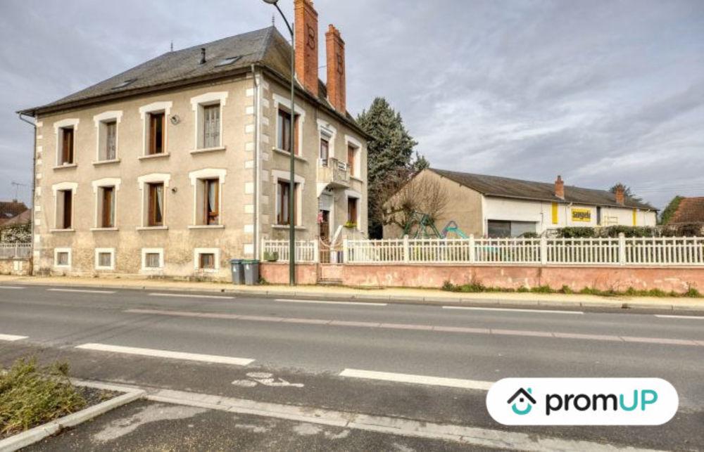 Vente Immeuble Immeuble de rapport avec 5 appartements à Saint-Amand-Montrond Saint-amand-montrond