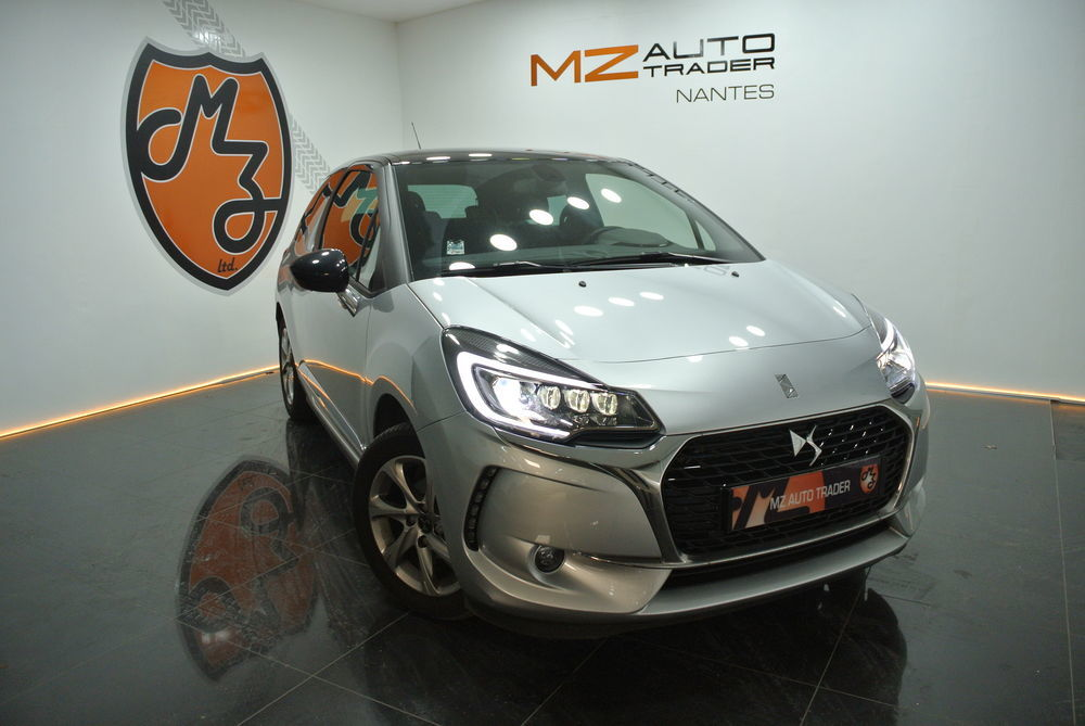 DS3 PureTech 110ch So Chic EAT6 GPS/FULL LED 2018 occasion 44000 Nantes