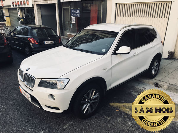voiture bmw x3 xdrive30d 258ch luxe steptronic a occasion diesel 2012 79900 km 27990. Black Bedroom Furniture Sets. Home Design Ideas