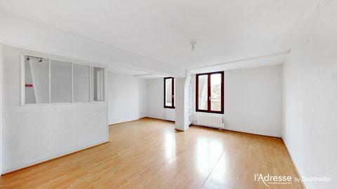 CREPY proche centre ville - Appartement  3 pièce(s) 54.23m² 614 Crépy-en-Valois (60800)