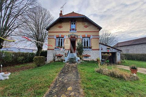 Maison Bannay  3 chambres, garage terrain 117500 Bannay (18300)