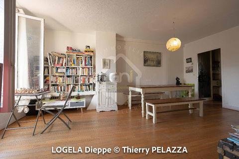 Dieppe centre-ville. Appartement F2 de 50 mètres carrés. 159000 Dieppe (76200)