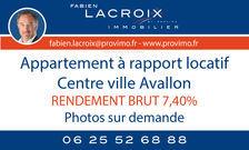 Vente Appartement Avallon (89200)
