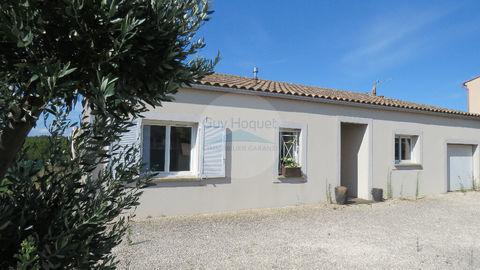 10 MN CARCASSONNE Villa récente 3 chambres avec garage sur terrain 820 m² 214300 Carcassonne (11000)
