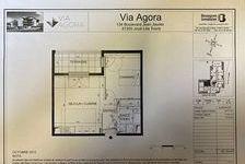 Appartement Joue Les Tours 2 pièce(s) 42.33 m2 530 Joué-lès-Tours (37300)