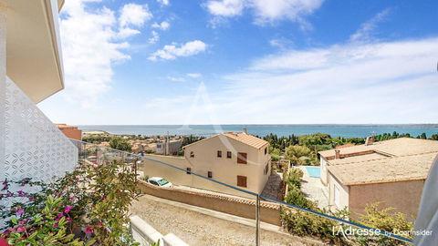 Appartement Sète 2 pièces de 51 m² prolongé par une terrasse de 22 m² dominant l'Etang de Thau accompagné d'un garage 295000 Sète (34200)