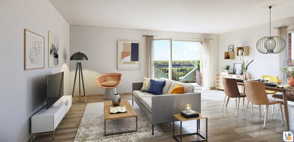 Vente Appartement Appartement Villeurbanne 4 pièce(s) 76.69 m2 Villeurbanne