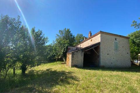 Maison en pierre, 2 chambres, avec vue à vendre 209000 Floressas (46700)