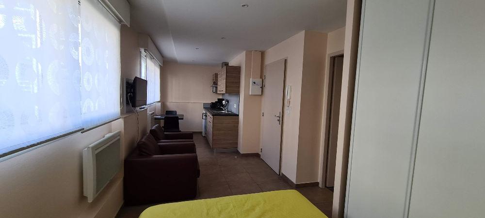Location Appartement Réf 16 -  Aix Les Bains 1 pièce(s) 22.50 m2 (Centre ville Sud) Aix les bains