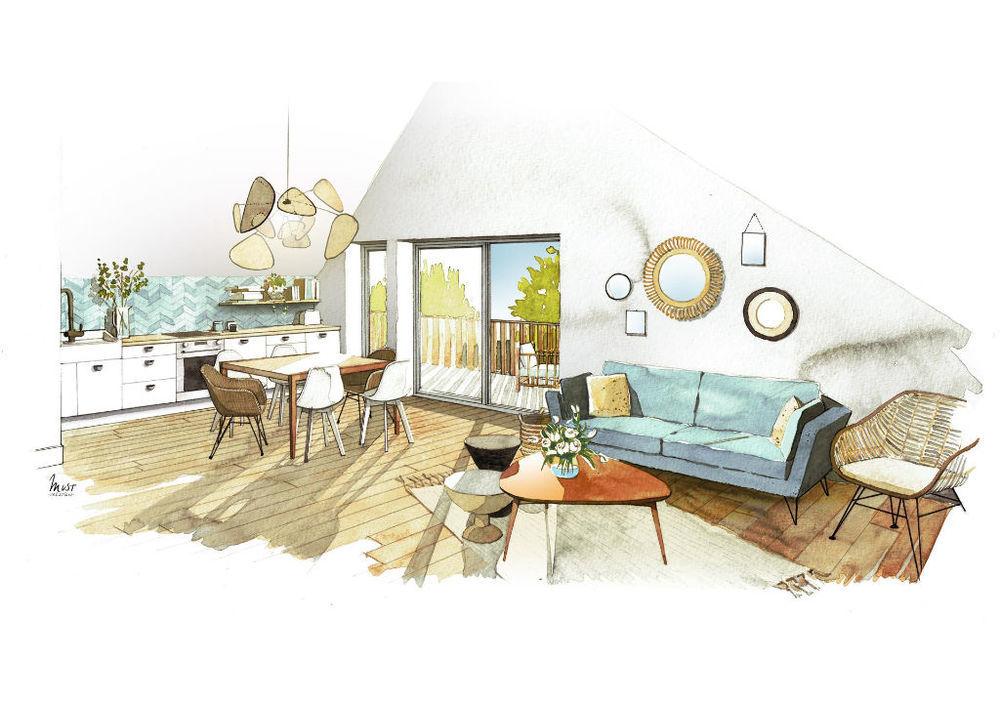 Vente Appartement Appartement Sales 3 pièce(s) 65.50 m2 Sales