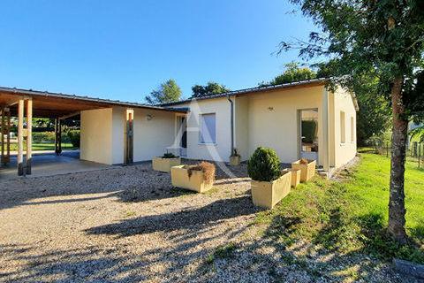 Local professionnel  ou habitation de  80 m² sur 1500 m² 238500 33540 Sauveterre de guyenne