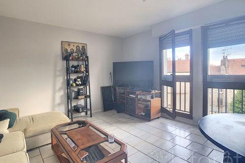 Appartement de type 3 au centre ville ! 460 Vesoul (70000)