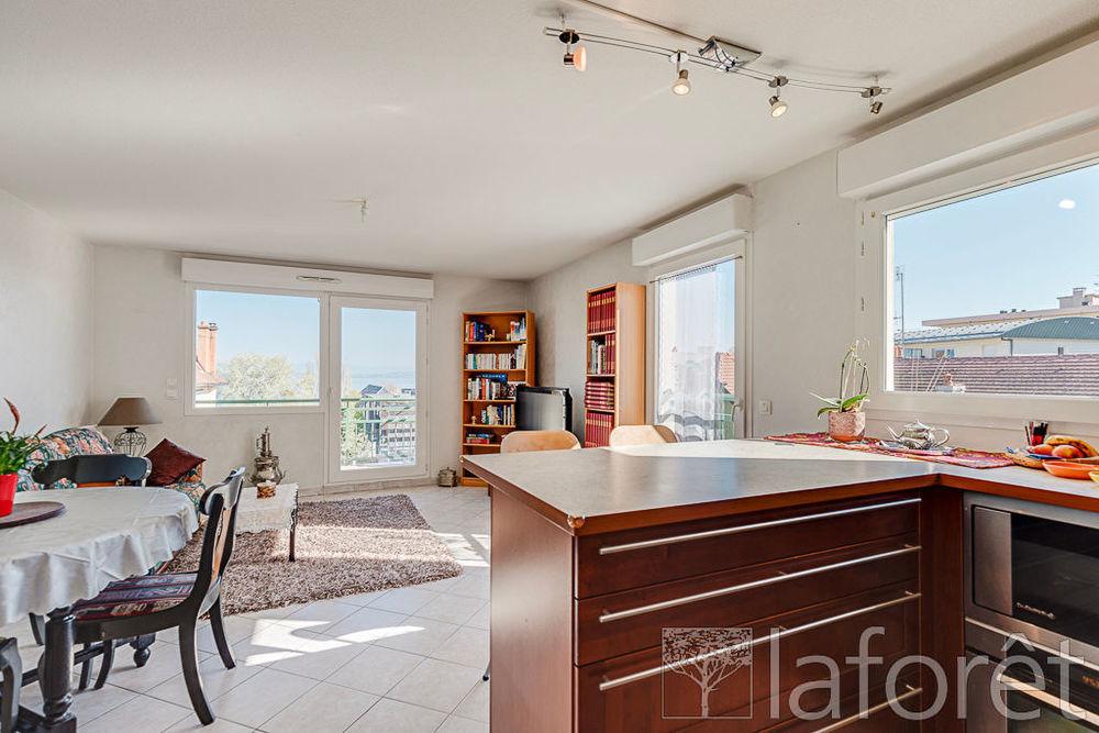 Vente Appartement Appartement Evian Les Bains 4 pièces 79.52m² avec vue lac. Evian les bains