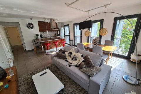 Coup de coeur!  Appartement Confluence 2 pièce(s) 57,35 m² (Confluence) 1599 Lyon 2