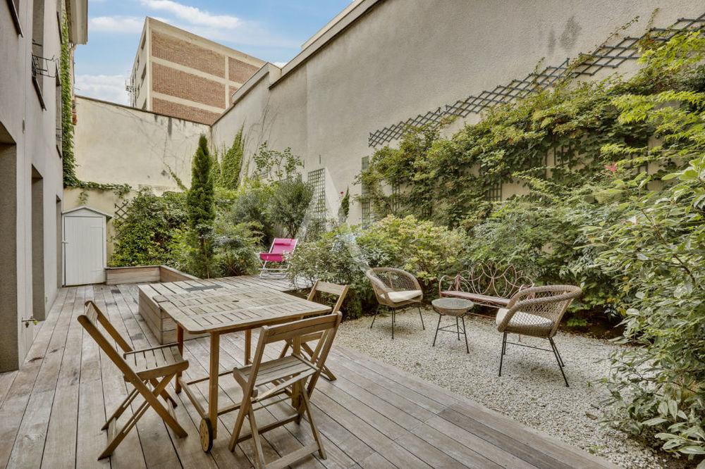 Vente Appartement Appartement familial avec jardin/terrasse privatif... Paris 10