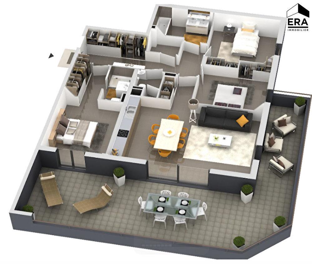 Vente Appartement Appartement Ajaccio 4 pièce(s) 105.25 m2 Ajaccio