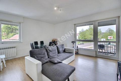 Appartement  2 pièces - centre ville - balcons - 53 m² 57750 Saint-Avold (57500)