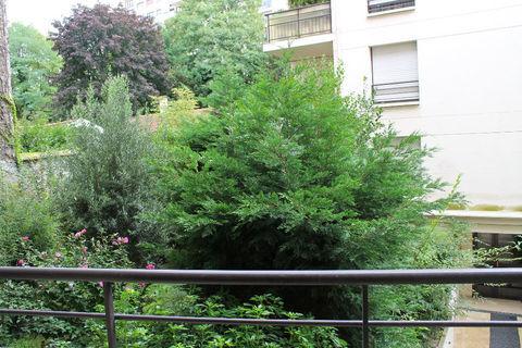 2 Pièces avec balcon, au calme avec une vue verdoyante 1490 Paris 12