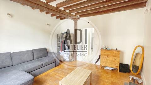 CENTRE VILLE, STUDIO RÉNOVE ET SON MOBILIER (25.60 m² Loi Carrez) 80990