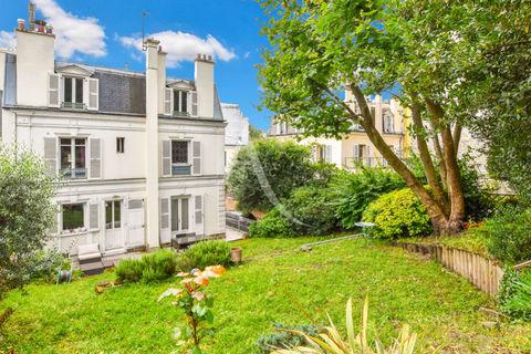 Propriété bourgeoise de 200m², 9 pièces, 6 chambres avec un Jardin de 472 m² 2395000 Levallois-Perret (92300)