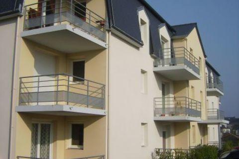 Appartement Loudeac 2 pièce(s) 44 m² - Résidence récente 410 Loudéac (22600)