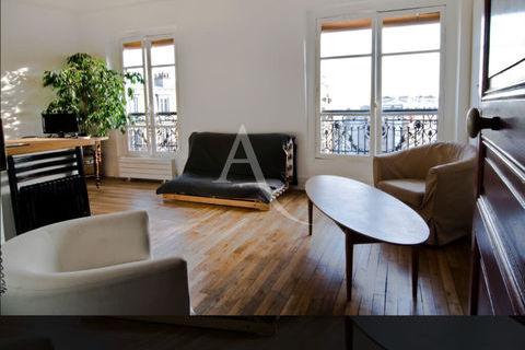 Appartement Studio Vue dégagée 1000 Paris 20