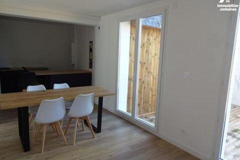 ST NAZAIRE, Appartement Rdc avec jardinet, Entièrement rénové, T2, 38,50m². 147260 Saint-Nazaire (44600)