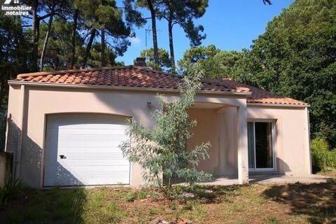 Maison de plain-pied 2 chambres et un bureau - Saint Brévin l'Océan 399000 Saint-Brevin-les-Pins (44250)