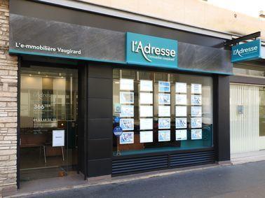 L'Adresse Vaugirard Paris 15, agence immobilière 75
