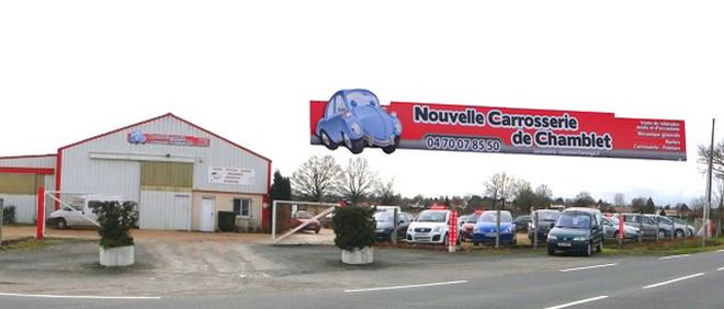 NOUVELLE CARROSSERIE DE CHAMBLET, concessionnaire 03