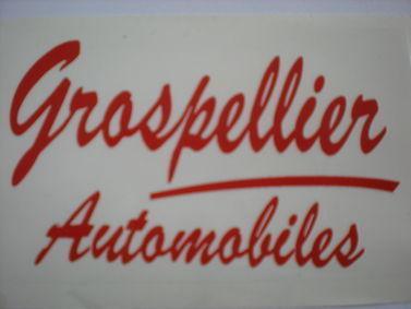 SARL GROSPELLIER AUTOMOBILES, concessionnaire 83