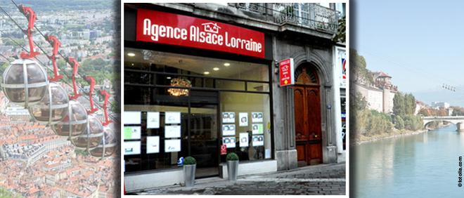 ALSACE LORRAINE AGENCE, agence immobilière 38