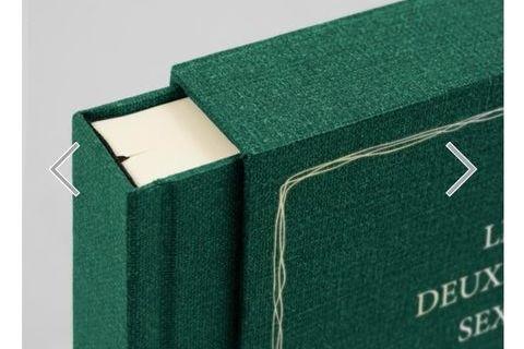 Manuscrit Simone de Beauvoir : le deuxieme sexe 110 Montcy-Notre-Dame (08090)