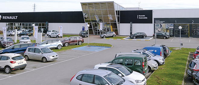 RENAULT AMIENS RIVERY GROUPE GUEUDET, concessionnaire 80
