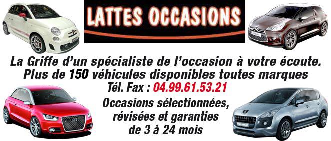lattes occasions concessionnaire auto lattes 34. Black Bedroom Furniture Sets. Home Design Ideas