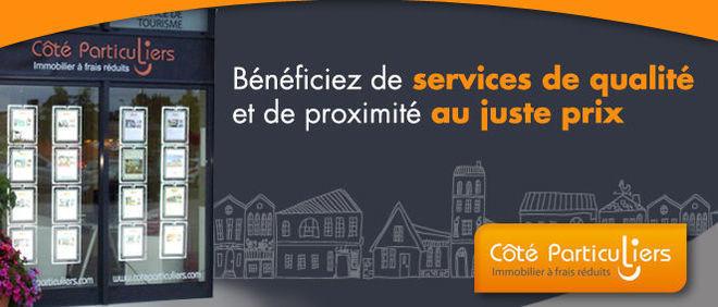 Côté Particuliers Pontivy, agence immobilière 56