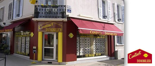 CONTACT IMMOBILIER, agence immobilière 89