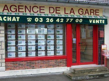 L'AGENCE DE LA GARE, agence immobilière 51