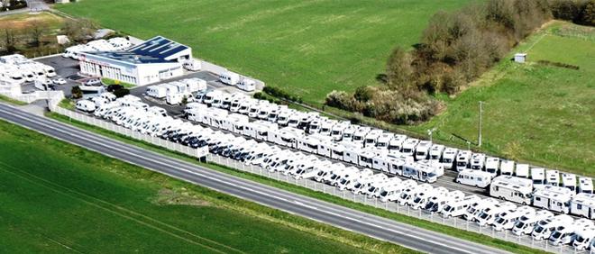 CAMPING CARS DE TOURAINE, concessionnaire 37