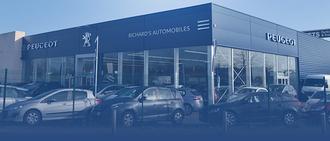 RICHARD'S AUTOMOBILES PEUGEOT, concessionnaire 44