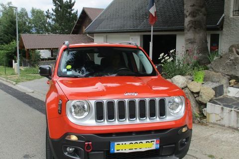 Jeep Renegade 2.0 I MultiJet S&S 140 ch 4x4 Limited 2014 occasion Pamiers 09100