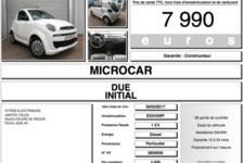 MICROCAR Voiture sans permis  occasion Carrières-sous-Poissy 78955