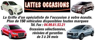 LATTES OCCASIONS, concessionnaire 34