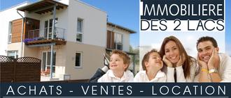 IMMOBILIERE DES 2 LACS, agence immobilière 74
