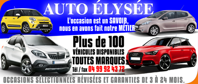 AUTO ELYSEE, concessionnaire 34