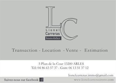 LIONEL CARRERAS IMMOBILIER, agence immobilière 13