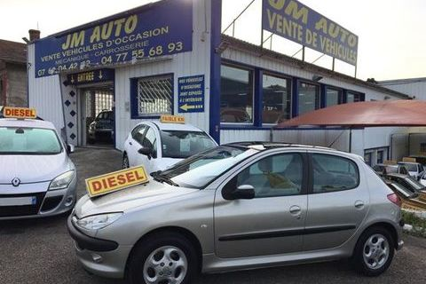 Peugeot 206 2.0 HDi X Line Clim 2004 occasion Firminy 42700