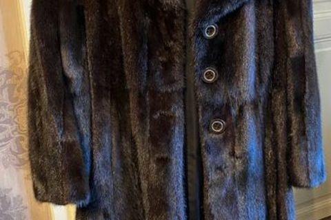 manteau de vison brun foncé état neuf 0 Mouzon (08210)