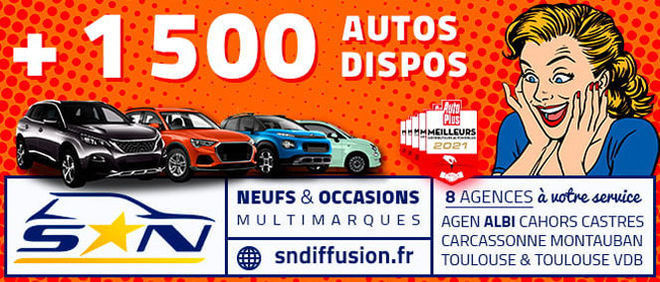 SN DIFFUSION - TOULOUSE, concessionnaire 31
